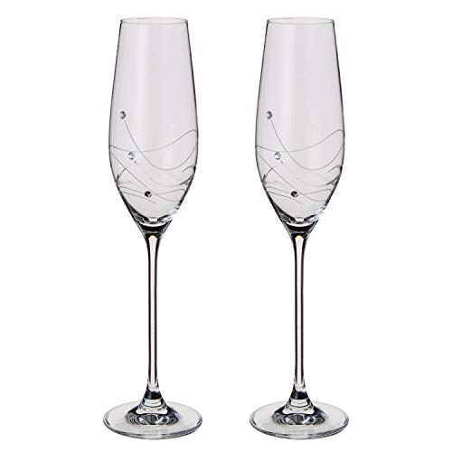 Dartington Crystal - Glitz Champagne fluiten