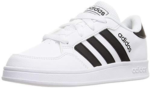 adidas BREAKNET K, Zapatillas de Tenis, FTWBLA/NEGBÁS/FTWBLA, 38 EU