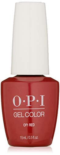 OPI gelcolor nagellak, rood, 1 stuks (1 x 15 ml) rood