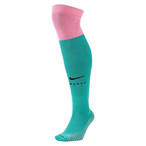 Nike 2020-2021 Barcelona Tercera Calcetines (Verde)