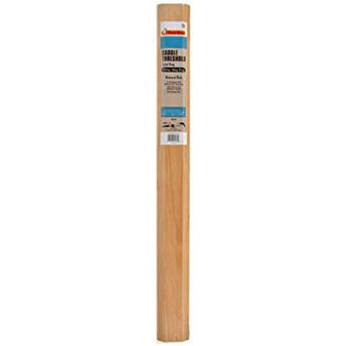 Frost King WAT36H Clear Oak Exterior Saddle Threshold 3-1/2-Inch-by 5/8-Inch by 36-Inch, Clear Oak