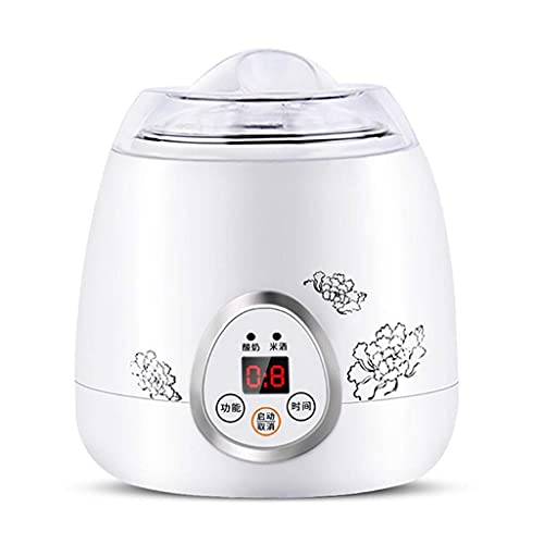 LINQ 1L Mini máquina de Yogurt de Yogurt eléctrico Multifuncional Máquina de fermentación de Vino de arroz con Acero Inoxidable Interior