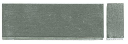 Herbertz Unisex– Erwachsene Messer-zubehör Wasser-Abziehstein 18 x 5 cm feinstes Korn Länge: 18.0cm, grau, M