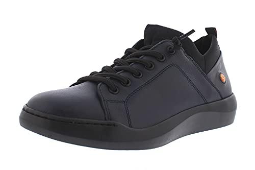 Softinos BONN - Zapatillas deportivas para mujer, Azul marino., 38 EU