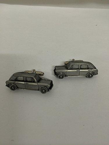 Austin 1100 Mk 3–3D-Boutons de manchette Homme-Classique-Bouton de manchette en ref9 effet étain
