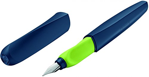 Pluma estilográfica Pelikan Twist, M, color Apple-Blau