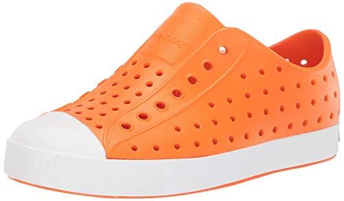 Native Kids Shoes Jefferson (Toddler/Little Kid) City Orange/Shell White 9 Toddler