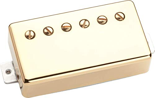Seymour Duncan SSH-2N GCOV 4C Jazz Classic Cover, Neck Position 4 Conductor Cable gold