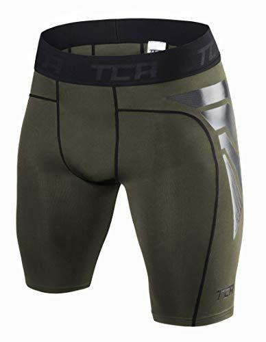 TCA CarbonForce Hombre Pantalones Cortos Térmicos con Baselayer Da Compresión Pro