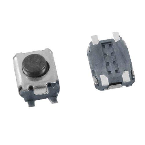 DealMux a12011500ux0291 5 momentáneo Tactile Tact interruptor de botón, 4 Pin SMD SMT, 3 mm x 3,5 mm x 2 mm