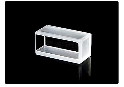 Xue Mei Zi Capacidad Especial de cubeta 250 UL Ruta óptica de 5 mm Polvo Proceso de sinterización aplicable Longitud de Onda 200 NM- 2500 NM Dimensiones 7x7x15 mm (Color : 5PC)