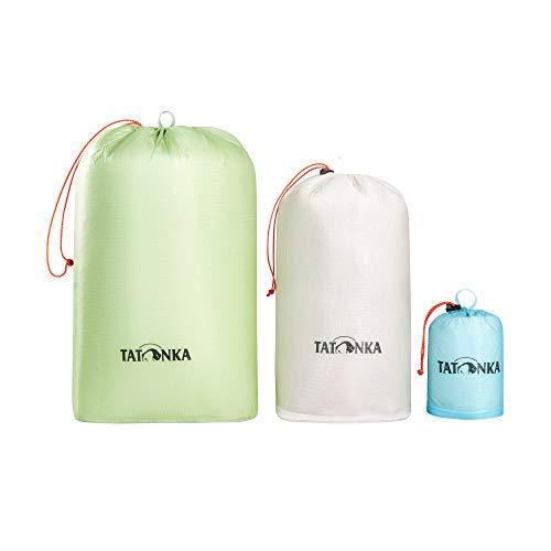 Tatonka Unisex– Erwachsene SQZY Stuff Sack Set Beutel, Assorted, 0,5l / 5l / 10l