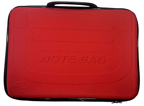 Capa Para Notebook 15,6 Polegadas (note Bag) com alça dupla e uma divisória interna (Vermelho)