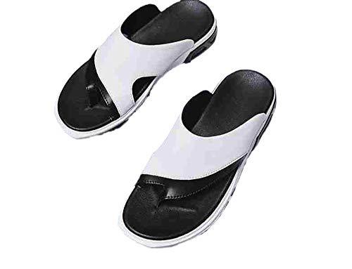 Ling Fengfeiyang Unisex Playa Chanclas,Gimnasio Cómodo Chanclas,Zapatos Planos Transpirables, Sandalias Cosidas y...