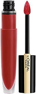 L'Oréal Paris Makeup Rouge Signature Matte Lip Stain, Weightless, High Pigment Lasting Color, Armored, 0.23 Fl Oz