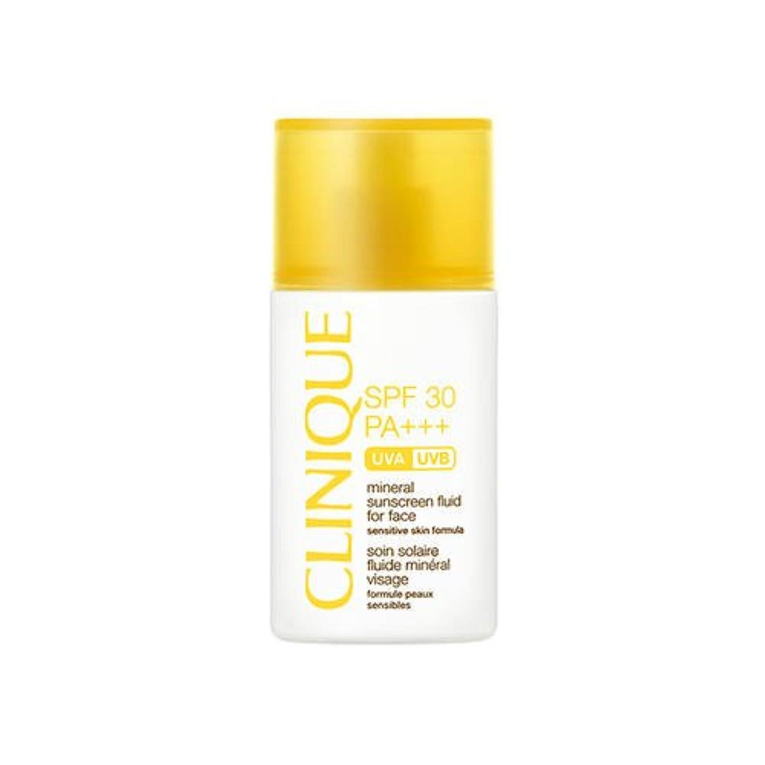 コジオスコミント植生CLINIQUE(クリニーク) SPF30 ミネラル サンスクリーン フルイド フォー フェース