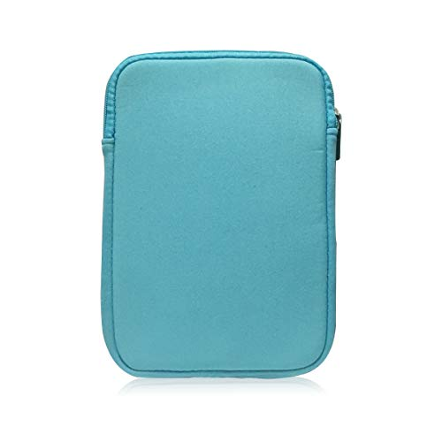 9-10 Inch Tablet Sleeve Bag, HannyBoo Protective Neoprene Zipper Case Cover for iPad 9.7 2018, iPad Pro 9.7, iPad 4/3, iPad Air 2, Surface Go, Galaxy Tab S3 9.7 inch, iPad 6th Generation - Light Blue