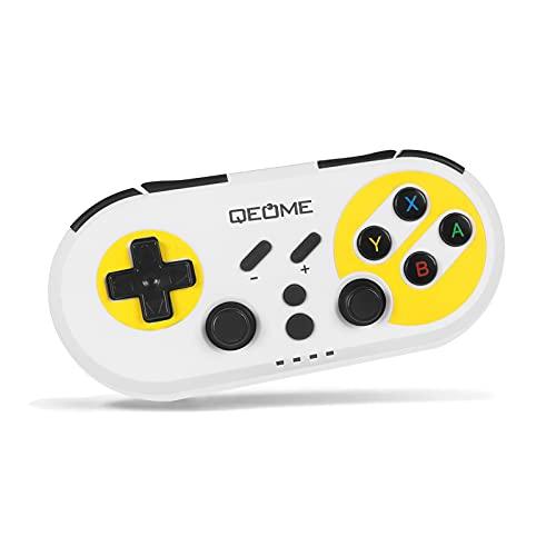 OUSMIN Commutateur de manette sans fil pour Nintendo Switch, GamePad, GamePad, Gyro Axis Dual Vibration USB C Gamepad Support Switch / PS3 / PC / Tablette / Android