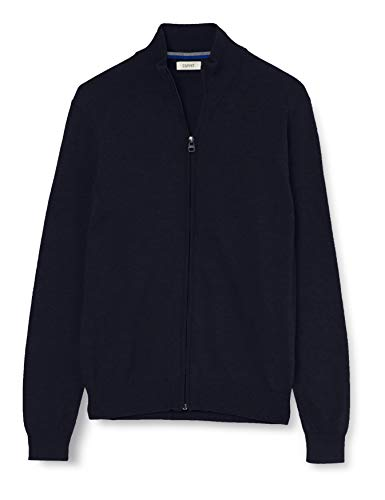 ESPRIT Herren 999Ee2I805 Pullover, Blau (Navy 400), Large (Herstellergröße: L)