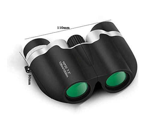 DKEE Robustes HD-Nachtsichtfernglas/Entfernungsmesser-Objektiv Taktisch, Wasserdicht Voll Mehrfach Beschichtetes BAK4 Zum Einfachen Tragen Beim Jagen Und Angeln Camping/Wandern (Farbe : Black)