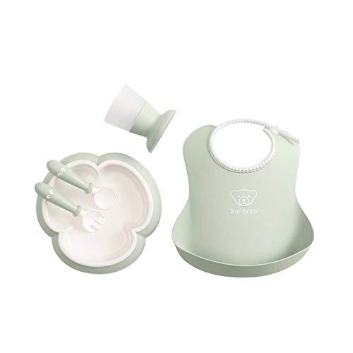 BabyBjörn 070061 - Cuchara y tenedor para bebé, 4 piezas
