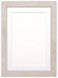 Wide Confetti Wood Frame Range Photo frame with Mount - With an MDF backing board - Ready to hang - With Styrene Shatterpr...