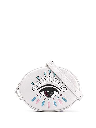 Kenzo Luxury Fashion Damen FA52SA605L23AG Silber Leder Gürteltasche | Frühling Sommer 20