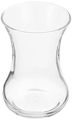 Turkish Tea Glass Set Plain - 4.25 OZ