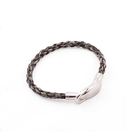 CrinTiff - Horsehair bracelet for women - Collection jump - Round Braid