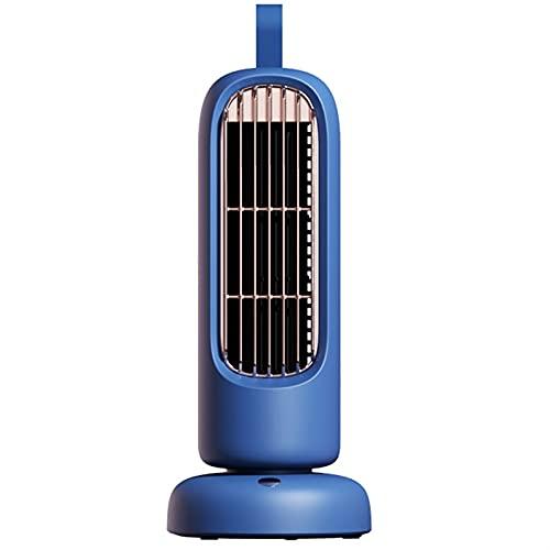 cyg Ventilador De Torre, Retro Ventilador De Columna Carga USB Oscillating Tower Fan Mini Ventilador De Cabeza con Movimiento Silencioso En Habitación Compartida (Color : A)