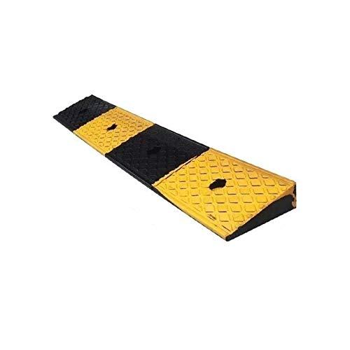 CJXing-Slope pad Rampas de umbral de supermercado, rampas estables para coche, antideslizantes, portátiles, para sillas de ruedas, rampas de seguridad para almacén de fábrica (tamaño: 100 x 15 x 5 cm)