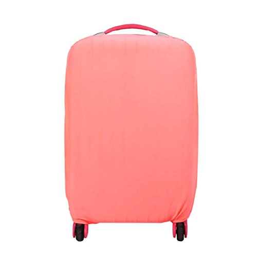 AOTUOTECH Elastische Solid Color Bagage Cover Travel Suitcase Cover Koffer Stofdichte Tas Anti Scratch Stofzuiger Boot