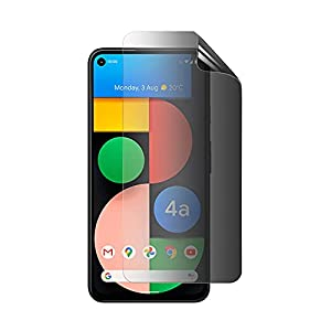 Celicious Privacy 2-Way Anti-Spy Filter Screen Protector Film Compatible with Google Pixel 4a 5G