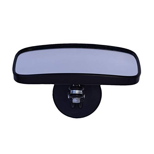 Side-View Magnetic Mirror, Black/Silver