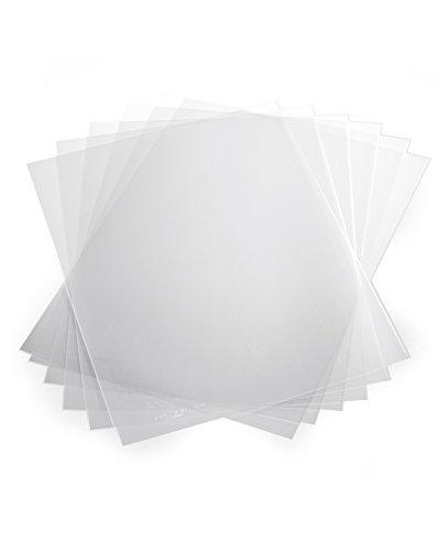 Durable 293919 Klemmschienenhülle A4 aus PP, für circa 1-100 Blatt, 50 Stück, transparent
