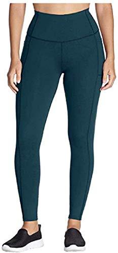Skechers Womens Go Walk GoFlex High Waisted 2-Pocket Yoga Legging (Teal, Medium)