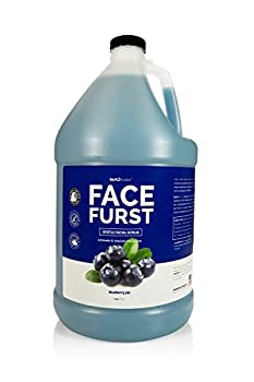 Bark 2 Basics Face Furst Scrub Dog Shampoo | 1 Gallon Exfoliates and Gently Cleans Facial Area Helps Remove Tear Stains Washes Away Impurities and Dead Skin Cells Soap and Cruelty Free