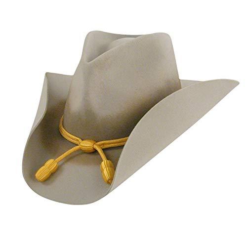 Bailey Men's Western Cavalry II Hat, Silverbelly, 7 5/8