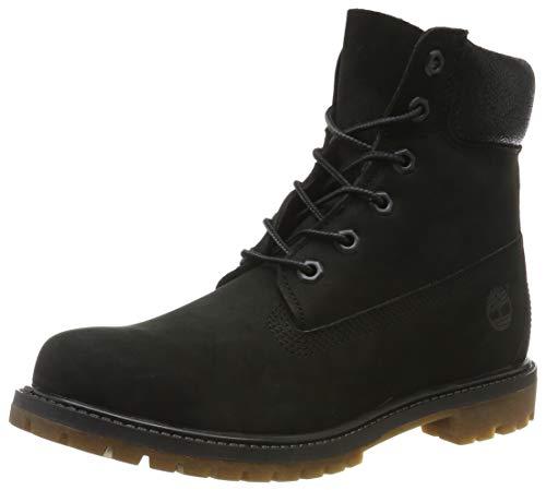 Timberland Damen 6 In Premium Boot W A1K38 Sneaker, Mehrfarbig (Black 001), 36 EU