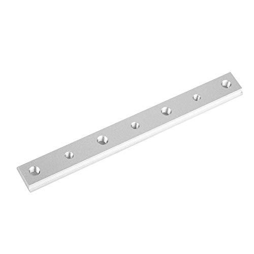 Aluminiumlegierung T-Nut Gehrungsschiene Jig T Schraubbefestigung Slot 100mm / 200mm / 300mm / 450mm für Tischkreissäge Router Tisch Holzbearbeitungswerkzeug(200MM)