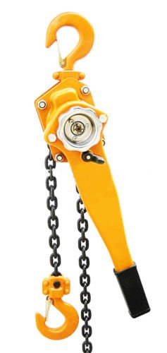 9TRADING 1.5 Ton Lever Block Chain Hoist Ratchet Type Come Along Puller 5FT Lifter 1-1/2