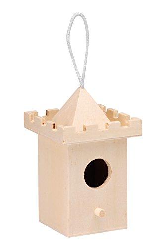 Glorex GmbH 6 2003 332 vogelhuisje van populierenhout