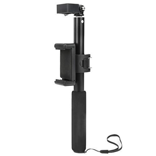 DAUERHAFT Durable, Ligero y portátil Type ‑ C, Juego de Palo telescópico para Selfies con Cable extendido, Accesorios de fotografía para teléfonos móviles, para OSMO Pocket 2