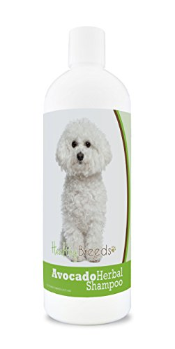 Healthy Breeds Herbal Avocado Dog Shampoo for Dry Itchy Skin for Bichon Frise - OVER 200 BREEDS -...