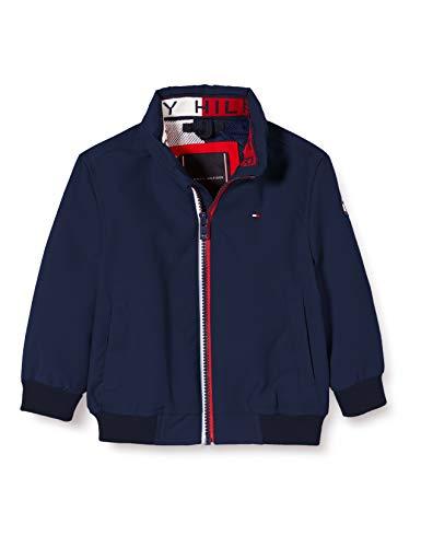 Tommy Hilfiger Jungen Essential Jacket Jacke, Blau (Twilight Navy 654-860 C87), One Size (Herstellergröße: 86)