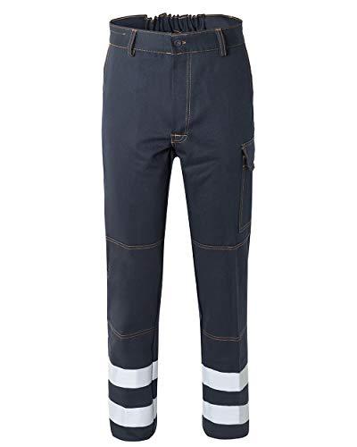 Rossini Trading A00106 broek met reflecterende strepen voor volwassenen