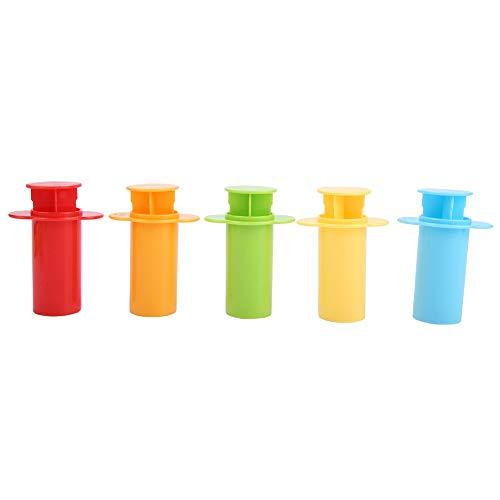 cersalt Molde de plasticene, Kit de moldes de plástico, Herramienta de Arcilla para Masa, Herramienta de Molde para Masa, Juego para niños, Juguetes interactivos de coordinación Ojo-Mano