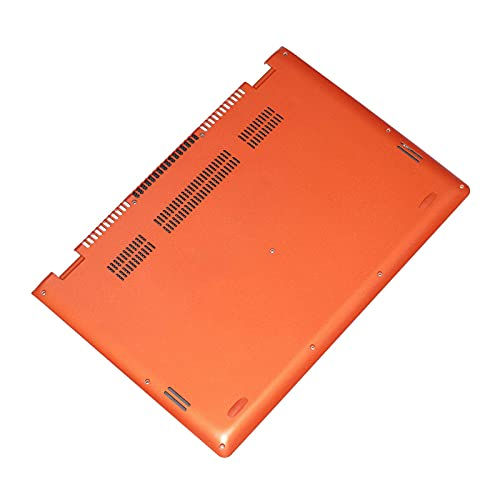 ZGQA-GQA Nuevo Repuesto AP0YC000130 para Yoga 700-14 14ISK Cubierta de la Base Inferior Estuche Inferior Naranja (Color : Default)