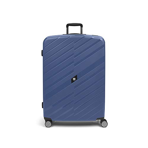 Gabol - Sendai   Large Hard Travel Suitcases 54 x 78 x 30 cm with Capacity 98 Litre Blue Stewardess