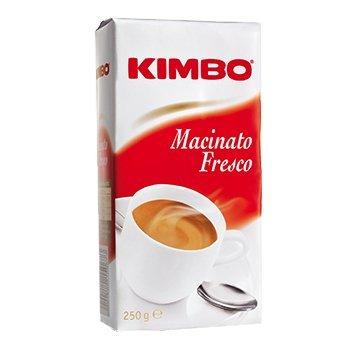 Kimbo Macinato Fresco Cafè Napoli Molido 250g x 8 (2kg Total)
